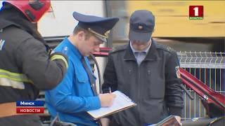 ДТП на Партизанском проспекте: самосвал подмял под себя Nissan