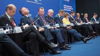 Первый день ПМЭФ-2018: санкции, контрсанкции и государственная поддержка олигархов