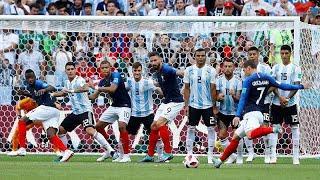 Франция вышла в 1/4 финала ЧМ по футболу, обыграв Аргентину 4:3…