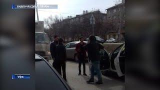 В Уфе пьяные пассажиры напали на таксиста