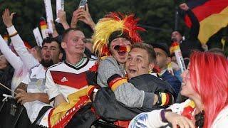 Победа Германии: реакция болельщиков
