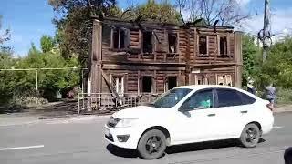 Последствия пожара на Ильинке