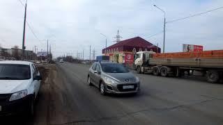 Пешеходный переход около п. Весенний Оренбурга