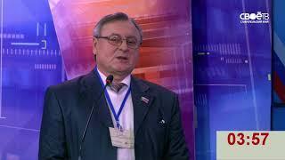 Дебаты в рамках совместных агитационных мероприятий на выборах президента России.