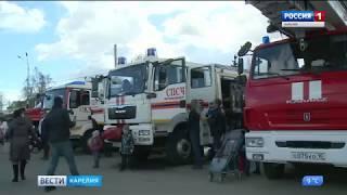 В столице Карелии  провели  состязания спасателей