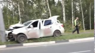 В Ярославле в ДТП вновь попало такси
