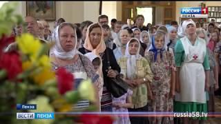 Более тысячи пензенцев пришли в церковь почтить память апостолов Петра и Павла