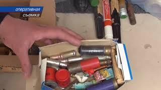 Севастополец хранил боеприпасы в гараже