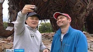 Путешественники из Набережных Челков прибыли на Колыму