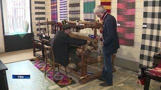 В Уфе открылась выставка старинных ткацких станков