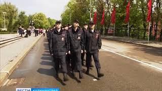 Сотрудники калининградской полиции приняли присягу