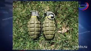 Буйнакские полицейские задержали 4 подозреваемых в незаконном обороте оружия
