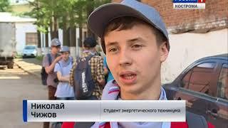 """""""Спортивный субботник"""" : костромские студенты совмещают бег с уборкой города"""