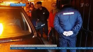 В Петербурге выясняют, зачем водитель въехал в переход станции метро «Московская»