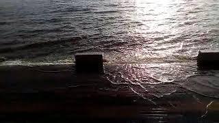 Набережная Хабаровска, вода прибывает