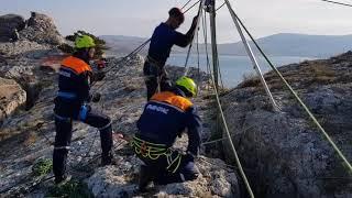 КРЫМ-СПАС тренируется в крымских горах
