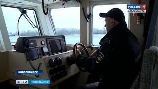 Сотрудники транспортной полиции патрулируют водоёмы Новосибирской области