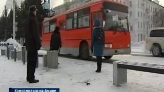 Дрифт в центре Комсомольска-на-Амуре
