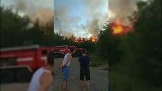 В Кургане пожар охватил жилой дом на Климова, эвакуированы 10 человек