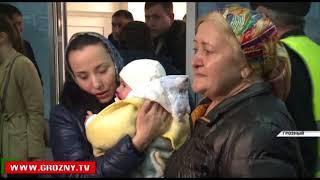 В Чечню вернули спасенную в Ираке годовалую девочку