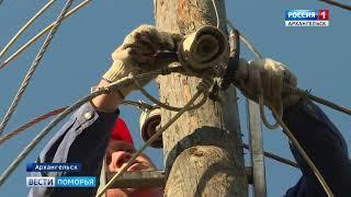 В Архангельске до сих пор устраняют последствия урагана