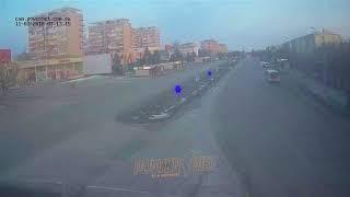 ДТП (авария г. Волжский) пл. Ленина (вид на проспект) 11-02-2018 07-13