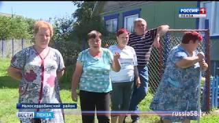 Тарифы на воду поссорили жителей пензенского села