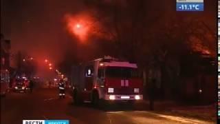 Два памятника деревянного зодчества сгорели в Иркутске