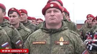 В Чечню прибыл личный состав батальона военной полиции Министерства обороны РФ
