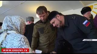 Рамзан Кадыров проголосовал на выборах Президента России