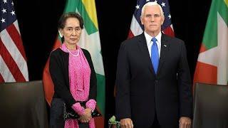 """Майкл Пенс: """"Гонениям на рохинджа нет прощения"""""""