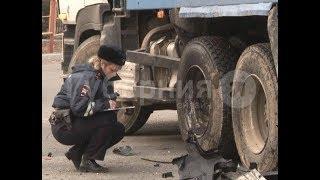 Два хабаровских автолюбителя пострадали в ДТП по вине водителя самосвала. MestoproTV