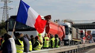 Четвертый день протестов во Франции