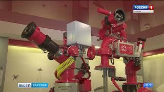 Норвежцы заинтересовались петрозаводскими роботами-пожарными