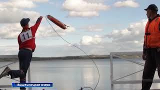 Кадетские классы МЧС региона выбирали лучших на соревнованиях на Виштынецком озере