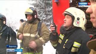 Пожар в «доме афганцев» в Барнауле: репортаж с места событий