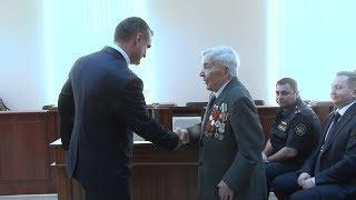 В Георгиевске служители Фемиды  вручили единственному судье в отставке,  особую медаль.