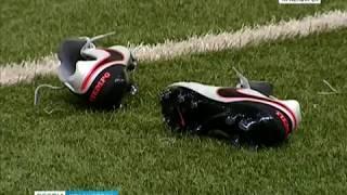 Футбольный «Енисей» провёл финальную тренировку перед матчем с махачкалинским «Анжи»