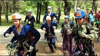 Юные спасатели Урала пробежали кросс в Югре