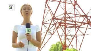 Подробности сноса башни в городе Щучье