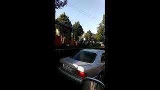 ДТП с трамваем заблокировало движение в Краснодаре
