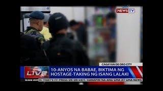 10-anyos na babae, biktima ng hostage-taking ng isang lalaki