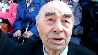 Ветераны на параде в Хабаровске