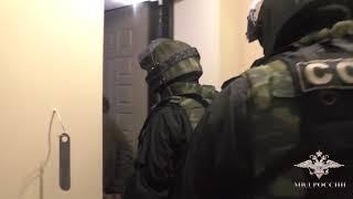 Задержание мужчины, стрелявшего в полицейских