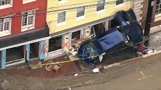 Потоп в Мэриленде: один человек пропал без вести