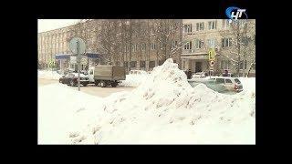 В рейд по уборке города отправилась прокуратура Великого Новгорода