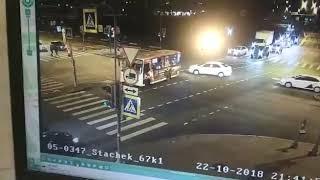 BMW Устроил Массовое ДТП в Санкт Петербурге. ДТП Сегодня. ДТП Октябрь 2018