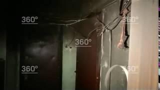 На юго-востоке Москвы произошел пожар в жилом доме