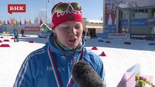 Мария Давыденкова - Чемпионат России по лыжным гонкам 2018 года