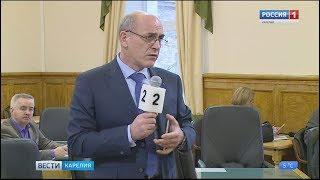 ЦИК Карелии внесла в республиканский парламент предложения